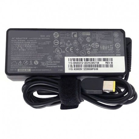90W Lenovo ThinkPad X1 Carbon 3460-9RU Adapter Charger + Cord