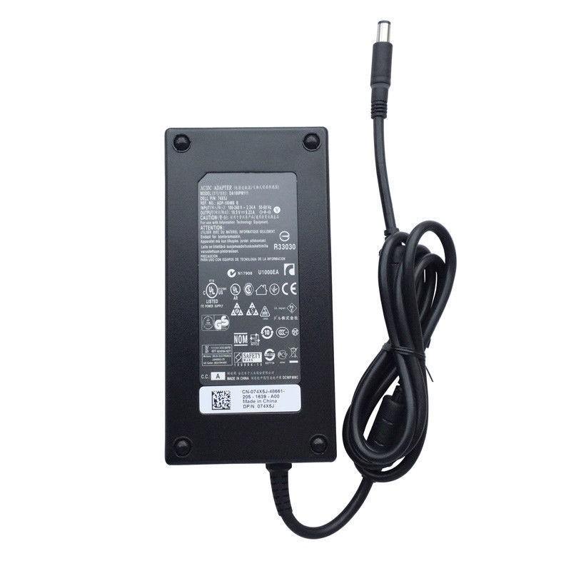 Ac Adapter 19.5V 9.23A 180 Watt for DELL G3 3579 G5 15 5587 G7 15 7588 Laptop